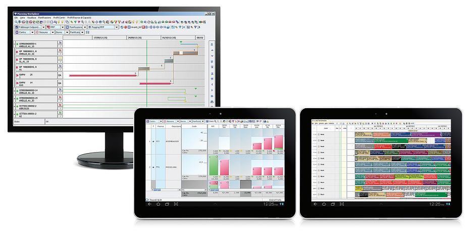 software pianificazione schedulazione produzione schedulatore processi produttivi industriali J-Flex APS