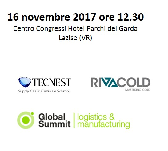 global logistics 2017 caso Rivacold Tecnest